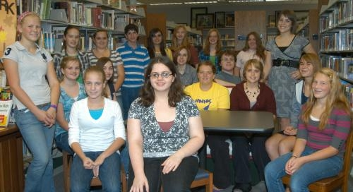 The Huntington City-Township Public Library honored its junior volunteers on Friday, Sept. 24.
