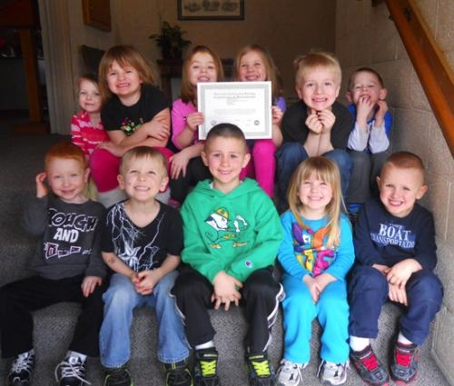 Life's Little Treasures Daycare in Markle recently celebrates new certification from the Family & Social Services Administration.
