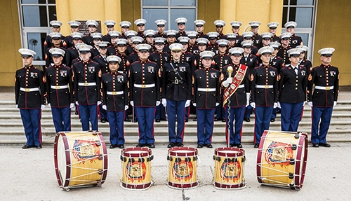 The Marine Band from San Diego will perform a free concert in the Huntington North High School Auditorium on Wednesday, April 17. Doors open at 6 p.m. and the concert will begin at 7 p.m. The public is invited.