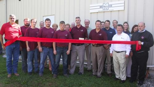 Metalloid re-opens Huntington plant two years after ...  Metalloid