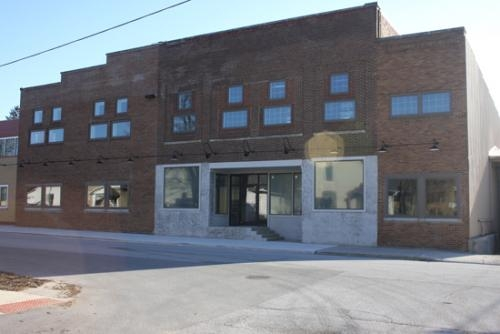 The Roanoke library may be moved to this building at 314 N. Main St. in Roanoke.  The library would occupy the left side of the building, doubling the space it currently has.