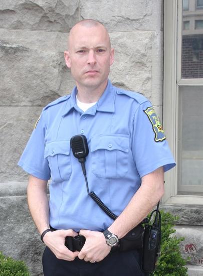 Greg Wajer is the new city ordinance officer for Huntington.