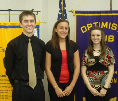 Allred, Santa, Mower receive Optimist Club scholarships | Huntington