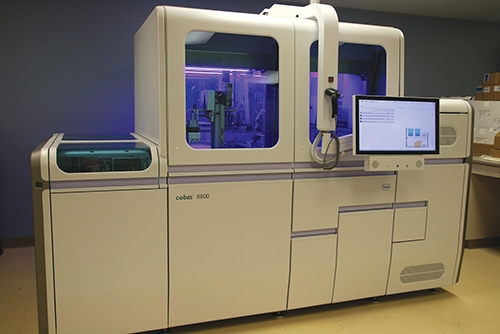 As part of the Indiana Department of Health's lab testing network, Parkview Regional Medical Center received a Roche cobas 6800 in August and began processing COVID-19 tests on Sept. 1.