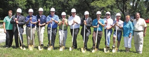 Pathfinder Services breaks ground on three new Supported Independent Living homes on Wednesday, July 17.