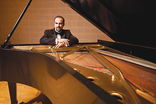 Hamilton Tescarollo, pianst, will perform at the Trinity United Methodist Church on Sunday, March 18, at 4 p.m. as part of Trinity's Evensong Concert Series. The concert is free and the public is invited.
