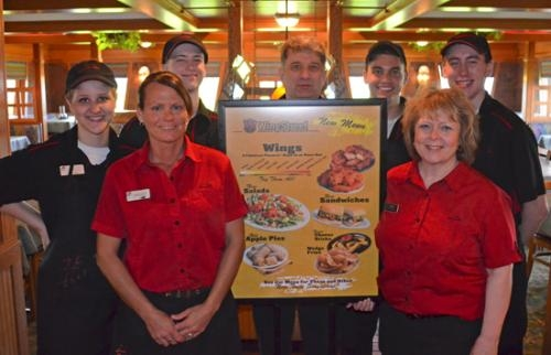 Pizza Hut in Huntington recently added the WingStreet line of products to its menu.