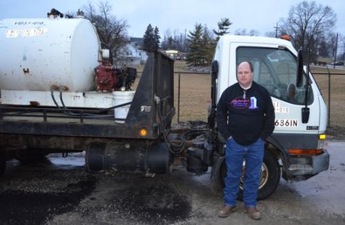 Ed Asher, owner of Jiffy Port-a-Jons recently purchased the port-a-john rental business  owned by Ness Excavating. By expanding his inventory, Asher now has 160 units and three collection trucks.