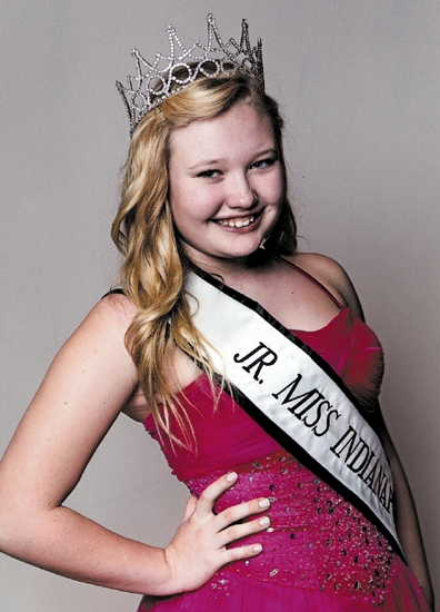 Kalee Pressler is the new Junior Miss Indianapolis.