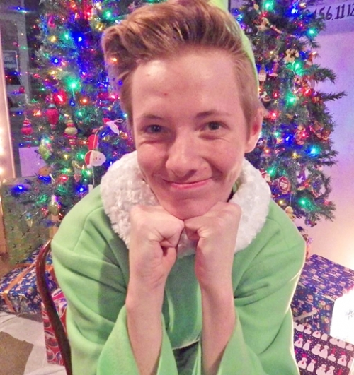 "Thom Greving portrays Buddy the Elf, the character he will be playing in the Pulse Opera House's upcoming Christmas season production of ""Elf, Jr."" Performances of the family-friendly show are slated for Dec. 1 to 3, 8 to 10 and 15 to 17."