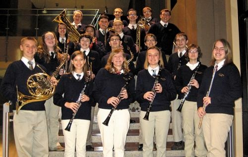 Twenty-one students from the Riverview Raiders Band were selected to perform in the Three Rivers Honor Band at IPFW.