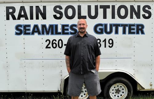 C.J. Fields is the owner of Rain Solutions in Huntington. The company offers remodeling services, including siding, wraps, windows and soffits.