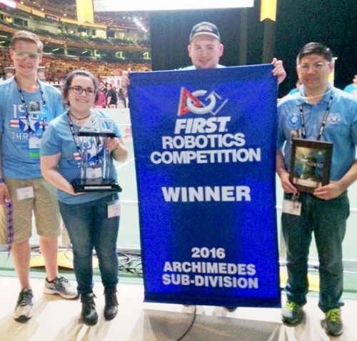 Local Robotics Team Finishes Top 10 At World S Huntington County Tab