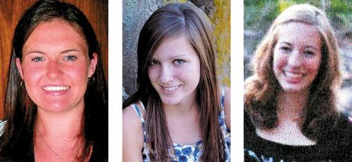(From left) Nicole Shaw, Kelly Ditzler and Alexandra Meyer.