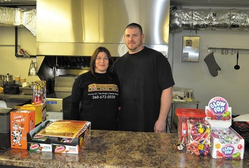 Yvonne Roe and Larry Coleman are the owners of Taste of Philly, located in Roanoke. The store specializes in Philly cheesesteaks and East Coast subs.