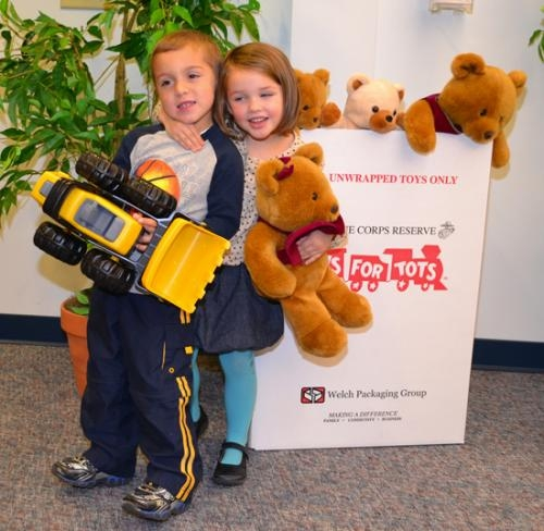 Toys For Tots Community : Toys for tots collection boxes are now in place