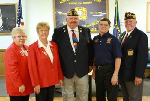 Veterans of Foreign Wars Post 2689 installed new officers on May 16.