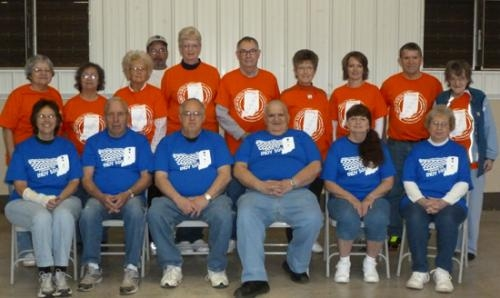 "The Huntington Parks and Recreation Department sponsored its annual walking program and pictured are the individuals who completed the Indiana walkers and the ""500"" walkers challenges."