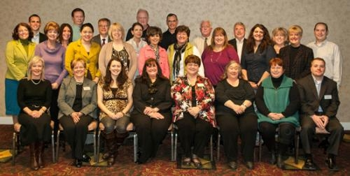 iAB financial bank recently celebrated milestone anniversaries of its employees during 2012.