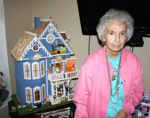 Tipton House Resident Realizes Importance Of Giving Her Dolls A Home