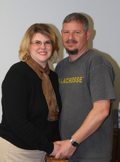 Brandi (left) and Chris Fife, of Huntington, are one of the many couples who met and fell in love at the local West Park Skate Center. They celebrated their 22nd wedding anniversary in January.