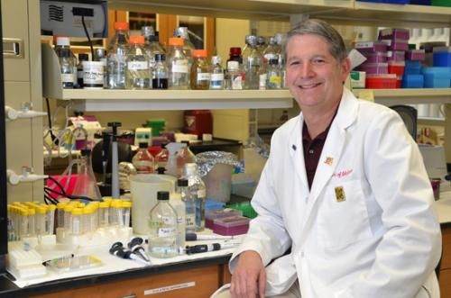 Dr. Mark R. Kelley, formerly of Huntington, is a prominent medical scientist who specializes in cancer research. He will speak at a luncheon in Roanoke on April 25.
