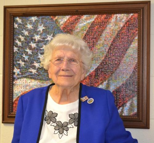 Warren resident Lilly Nutter passed her 100th birthday on Dec. 12 without slowing down in her quest to make sure all service members serving in harm's way are remembered by those at home.