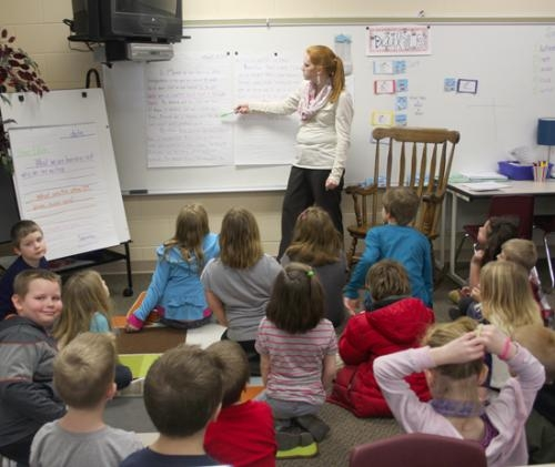Lincoln second-graders learning about getting here to there ...