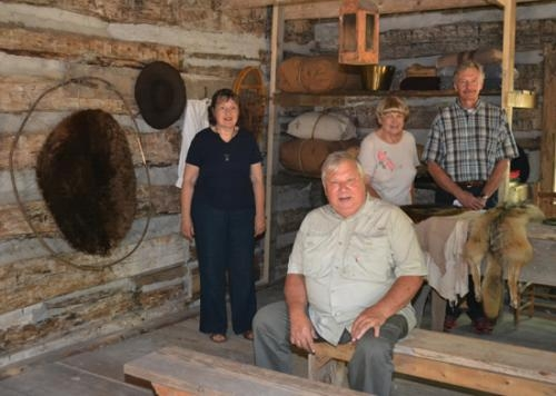 A trading post that will showcase the influence of French traders on the area is the latest addition to the Forks of the Wabash Historic Park.
