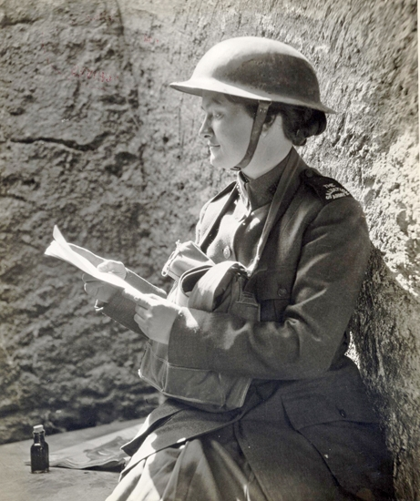 """Huntington native and Salvation Army officer Helen Purviance became known as the original """"doughnut girl"""" after frying the treats for World War I soldiers serving on the front lines in France in 1917."""