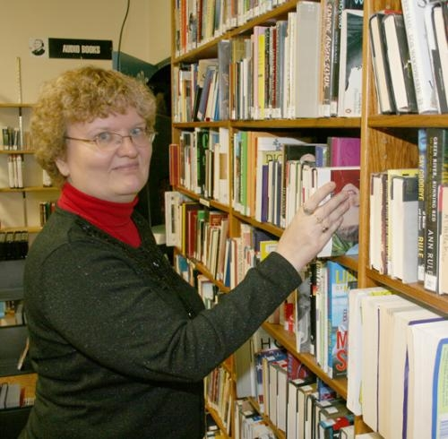 Celia Bandelier, library director at Roanoke Public Library, says the library has been an asset to the community for 100 years as it marks its centennial birthday on Feb. 19..