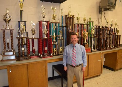 John Wenning stepped down as head of Huntington North's Varsity Singers program at the end of the school year.