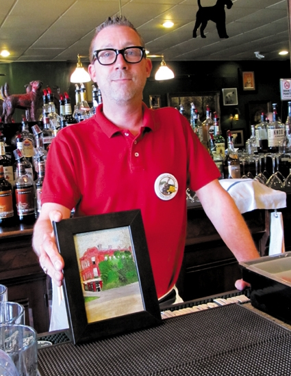 Lee Bowers, owner of the Rusty Dog Irish Pub, has placed an opening bid of $5 on each work of art offered in this year's JeFFFest. The Rusty Dog is also one of 10 food vendors serving up samples at the event, which will take place on Sunday, June 23.
