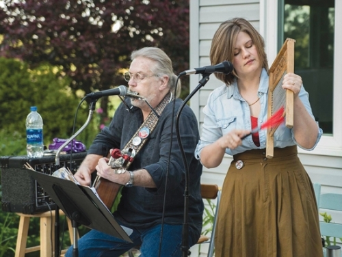 Lizzie eHoff and her Cough are among the musical acts to perform at the 44th annual Forks of the Wabash Pioneer Festival. The group will play on Sunday, Sept. 29, at 1 p.m. on the festival stage.