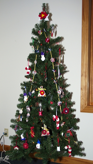 Shown is one of the trees on display at the 2011 Christmas Tree Walk hosted by the Historic Forks of the Wabash. The event will return this year, along with a Breakfast with Santa and Chiefs' House open house, on Saturday and Sunday, Dec. 1 and 2.