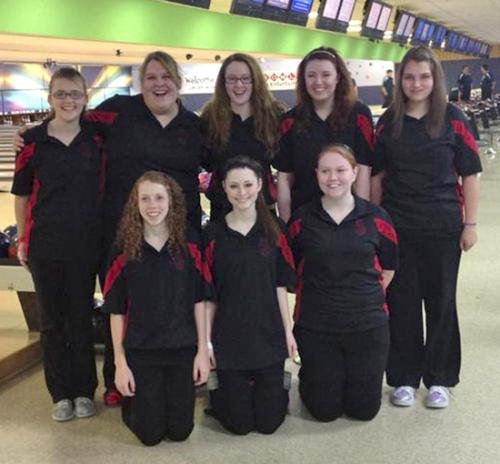 The Huntington North High School girls' varsity bowling team qualified for semi-state by placing fourth on Saturday, Feb. 2, at the regional bowling tournament in Fort Wayne.
