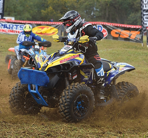Shane McCoart, of Roanoke, will be one of two Huntington County residents competing at the AMSOIL Ironman in Crawfordsville this weekend. McCoart competes in a 4x4 class.