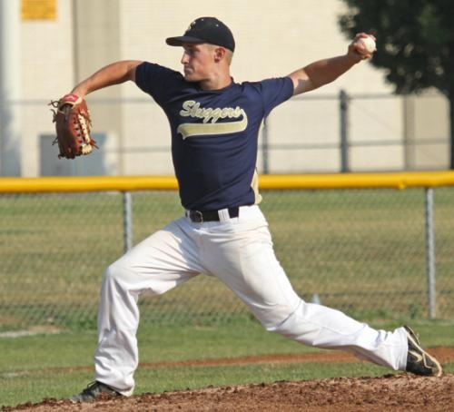 Foremr Huntington North baseball player Quinton Smith, shown pitching for the Summit City Sluggers traveling baseball eam, will continue his diamond career at Hertland Community College, in Normal, IL.