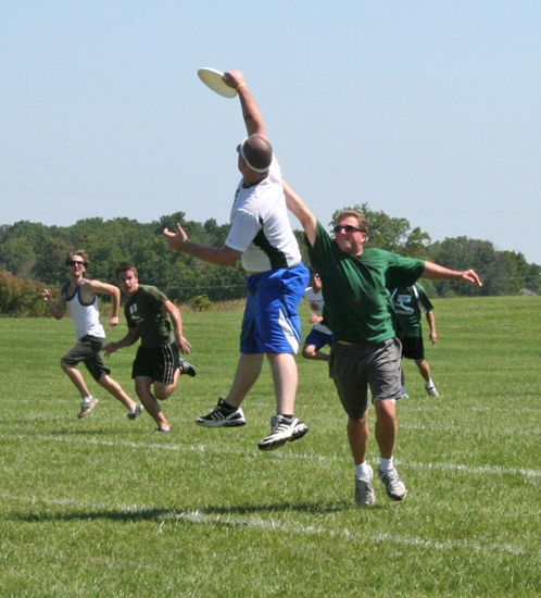 The fourth season of the co-ed church summer Ultimate Frisbee League is open for registration with no fees. Games will be played on Sunday afternoons at 2 p.m.